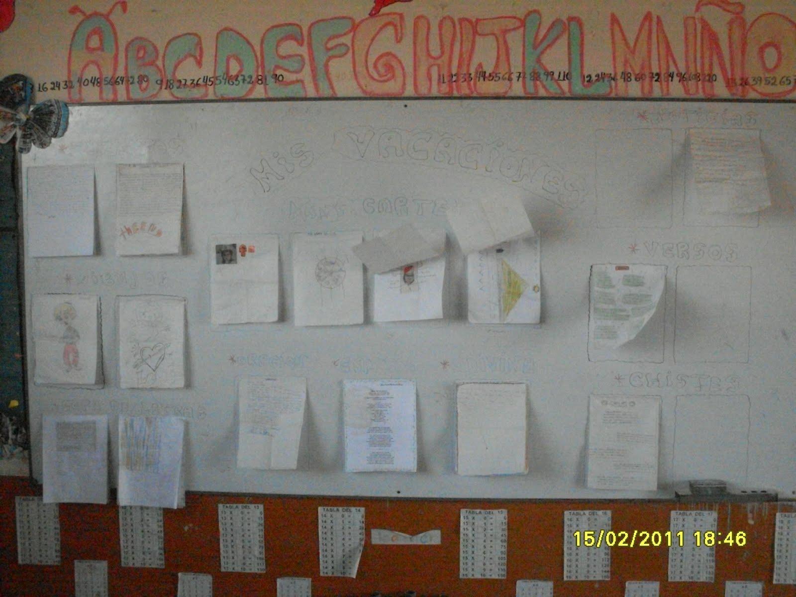 Mi escuela educa periodico mural escolar 2012 for Diario mural escolar