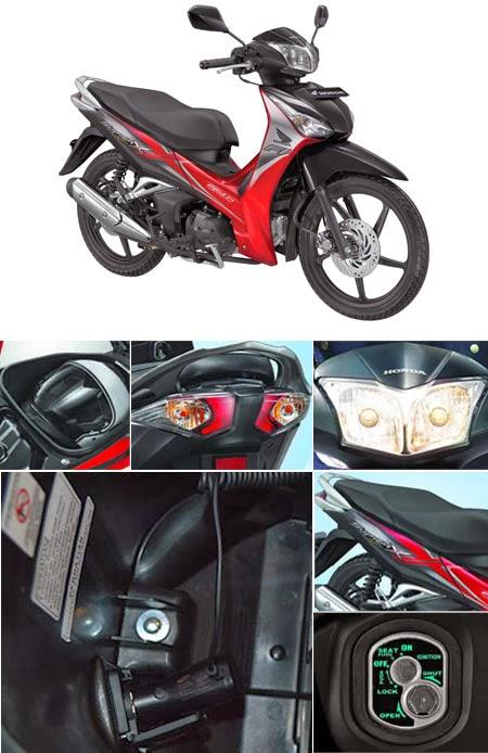 Fitur Honda Supra X 125 FI