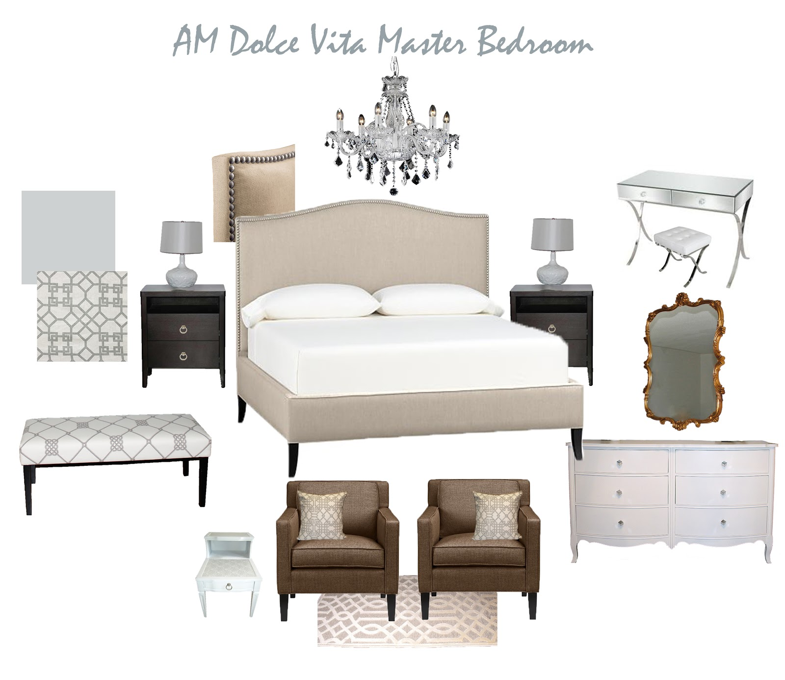 Am Dolce Vita Master Bedroom