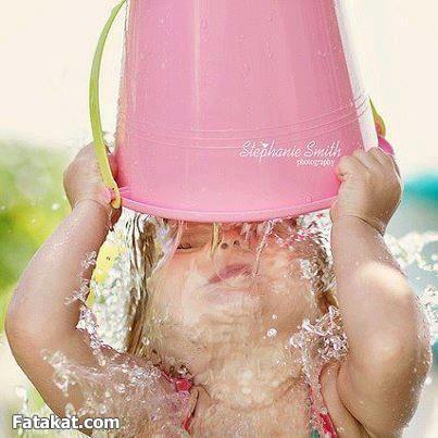 صور اطفال للصيف والحر - صور تعبيرية عن الحرارة والأطفال في الصيف