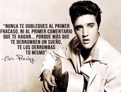 Frase de Elvis Presley