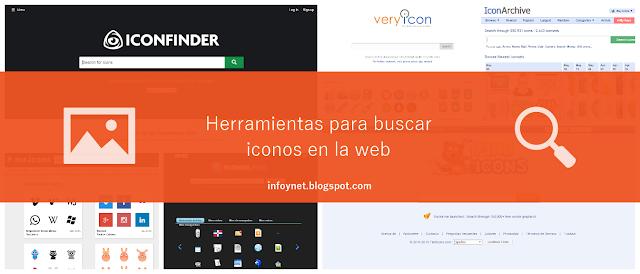 Herramientas para buscar iconos en la web