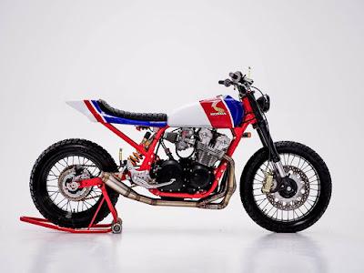 """Honda CB750 """"Tracker"""""""