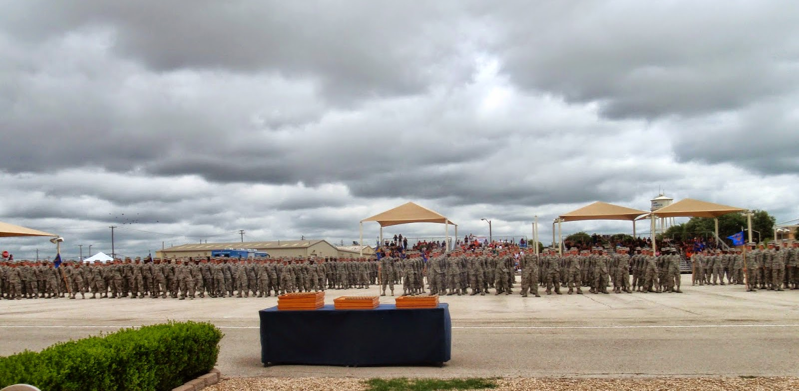 Air Force BMT Coin Ceremony