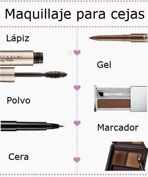 productos para maquillaje de cejas