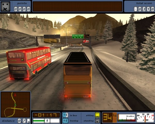 free bus driver  games