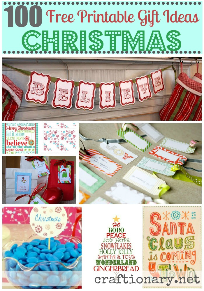 Refreshing image with christmas printable decorations