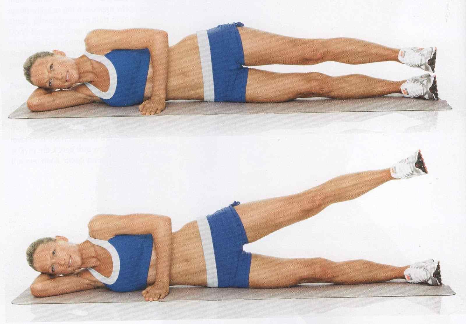 Ejercicios para afinar la cintura - Como hacer pilates en casa ...