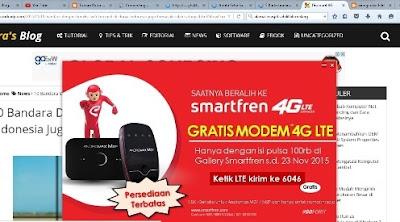 modem 4g LTE smartfren