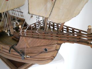 static model of the Santa María