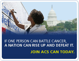 American Cancer Society Cancer Action Network ACT! Ambassador