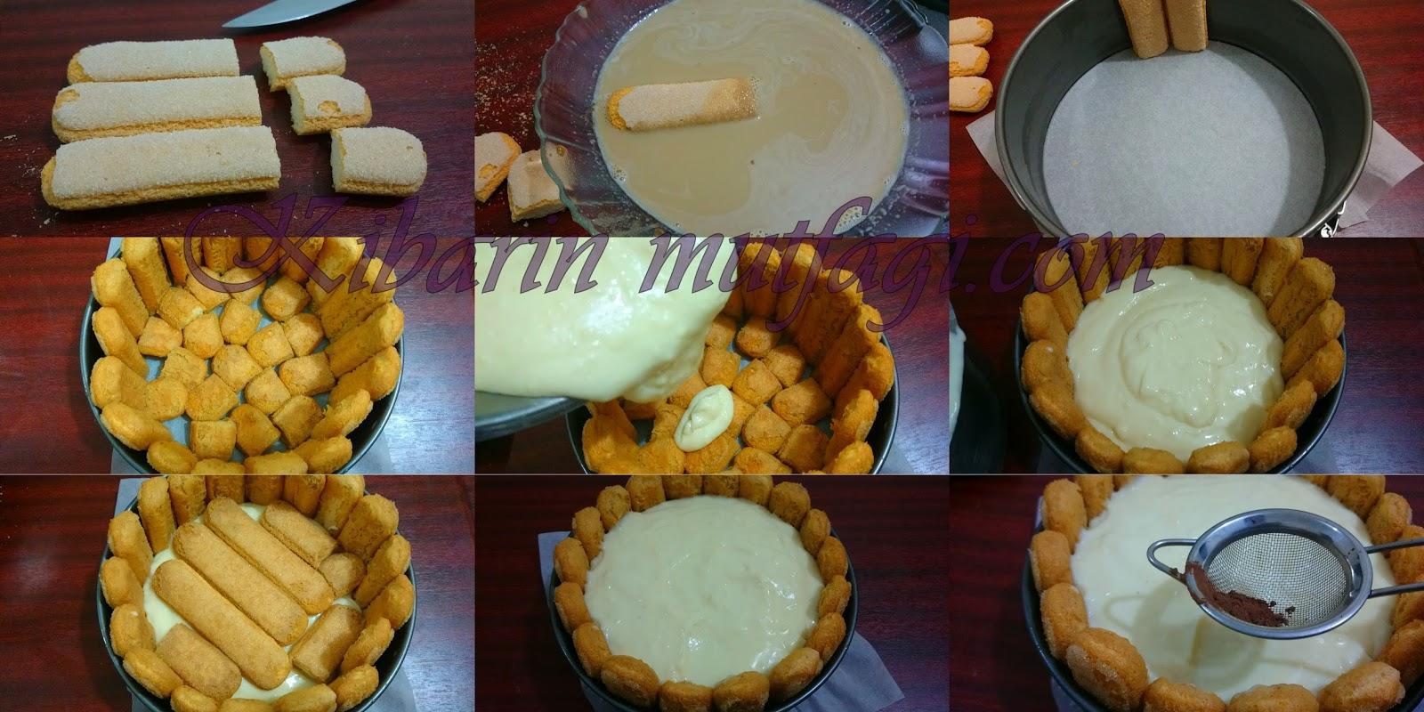 Tiramisu Pasta Keki İle Tarifi Videosu