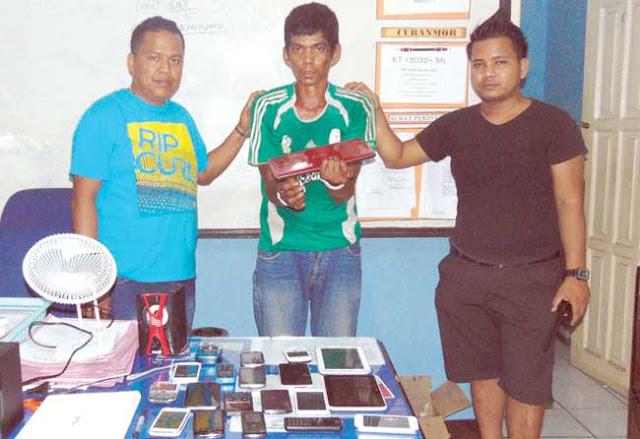 Tak Jera Empat Kali Dipenjara, Ansar Ketangkap Mencuri Lagi