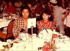 Christine Panjaitan di Malam Tahun Baru 1981