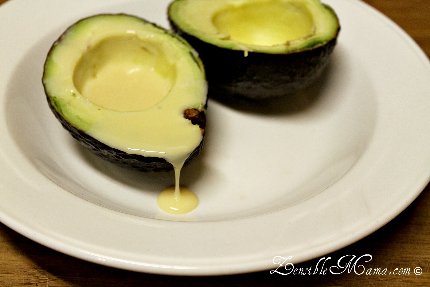 how to eat avocado by itself