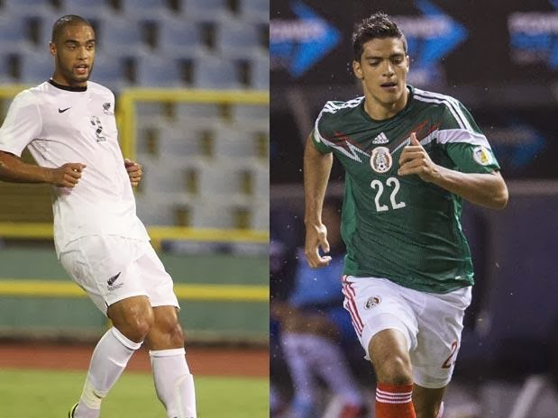 Nueva Zelanda vs Mexico