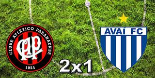 Atlético PR 2x1 Avaí