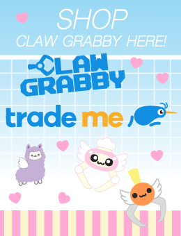 Claw Grabby Store x Trade Me x New Zealand