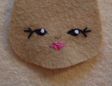 Embroidering Amigurumi Faces : Amigurumi embroider mouth ~ kalulu for .