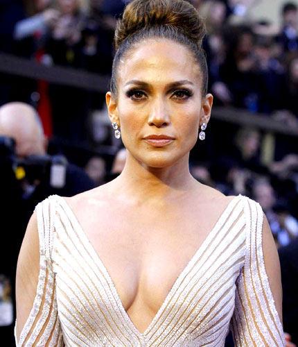 Jennifer Lopez Nipple Slip Oscars