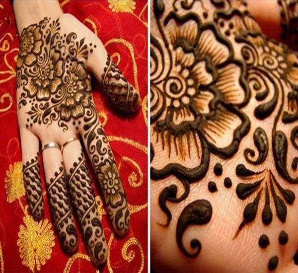 Front And Back Hand Mehndi Designs Collection 2013  Big Fun  The Fun Blog