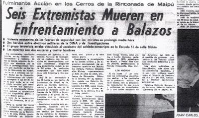 Juez sentencia a militares por asesinato político múltiple aludiendo a montajes de medios en dictadura