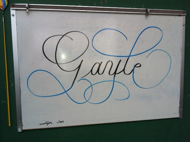 DeAnn Singh Calligraphy: February 27, 2012 - Copperplate Class #6 at ...