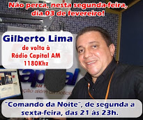 Gilberto Lima na Capital AM