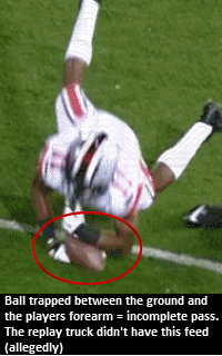 Ohio State player drops football during game against Penn State