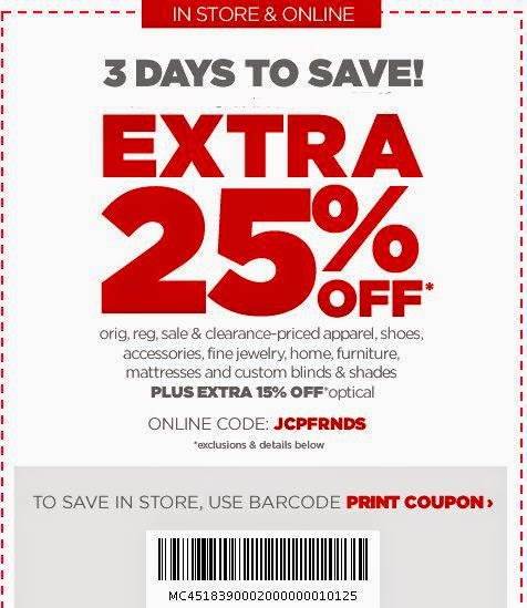 JCPenney April May June Coupons Coupon Codes Blogjcpenney CouponJc Penney And Discounts January 2017
