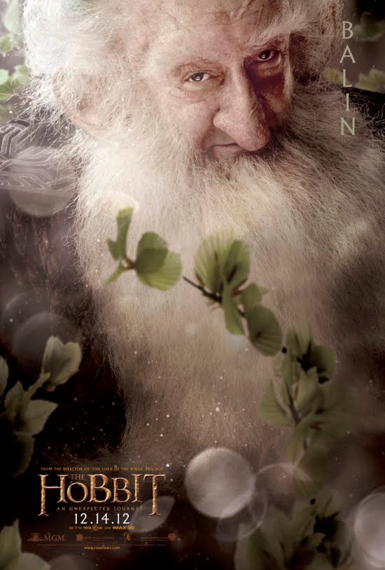 Balin - The Hobbit An Unexpected Journey Character Poster