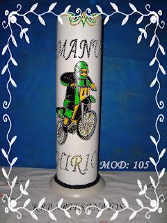 LUMINARIAS EM PVC MOTO