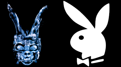 Donnie Darko bunny Playboy bunny logo