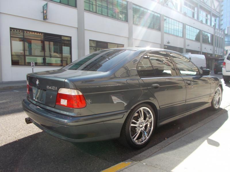 2001 bmw 540i specs 0-60