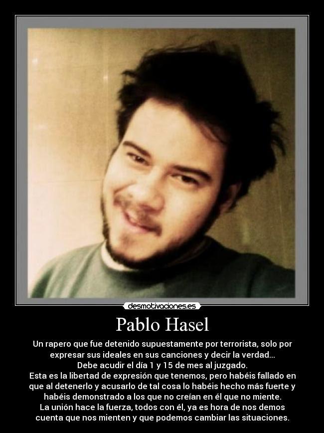 PABLO HASÉL: el primer condenado por enaltecimiento del terrorismo por obras artísticas