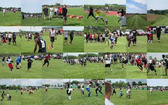 Collage of Lafayette College&#39;s Lauren First and Goal camp