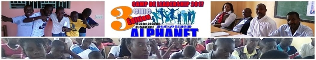 Alphanet Camp de Leadership Sciences et Technologies 2017