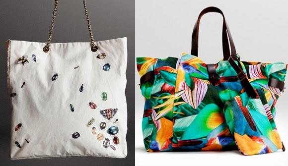 Bolsa De Praia Feita De Tecido : Criando moda bolsas para usar durante o dia