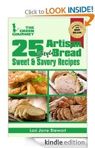 Free eBook Feature: 25 Artisan Style Bread Recipes by Lori-Jane Stewart