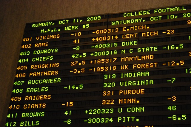 Football odds sports betting