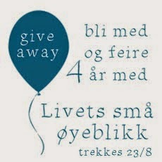 """Give away hos """"Livets små øyeblikk"""""""