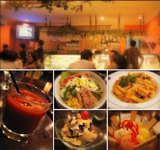 Manu Makanan Di Pisa Kafe