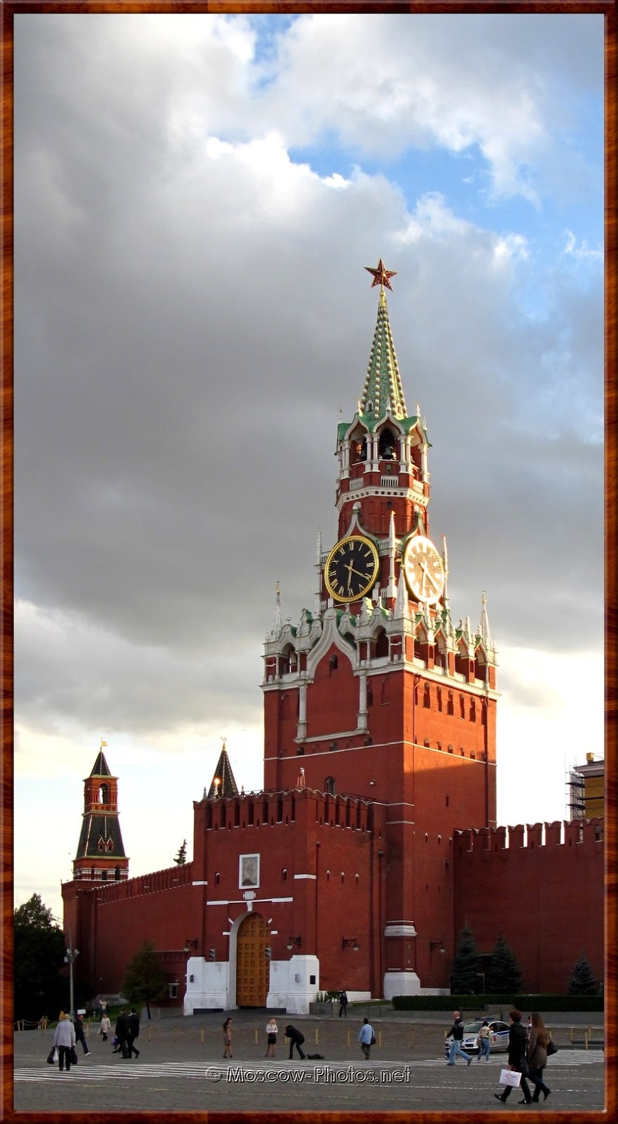 Spasskaya (Savior)Tower of Moscow Kremlin