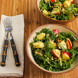 Kalyn's Kitchen®: Recipe for Raw Baby Kale Salad with ...