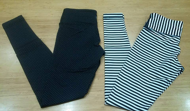 lululemon-polka-dot stripe wunder-under-pant