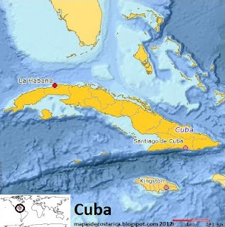 Cuba (planiglobe)