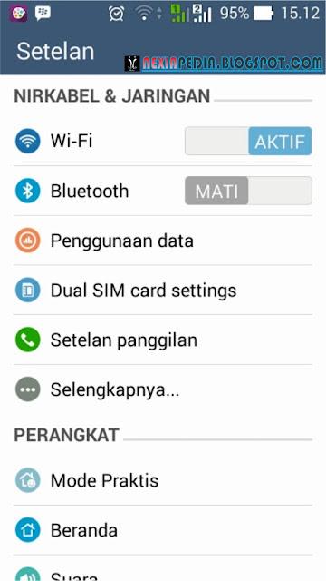 Cara membuat Wi-Fi portabel & WLan dengan Tethering Android