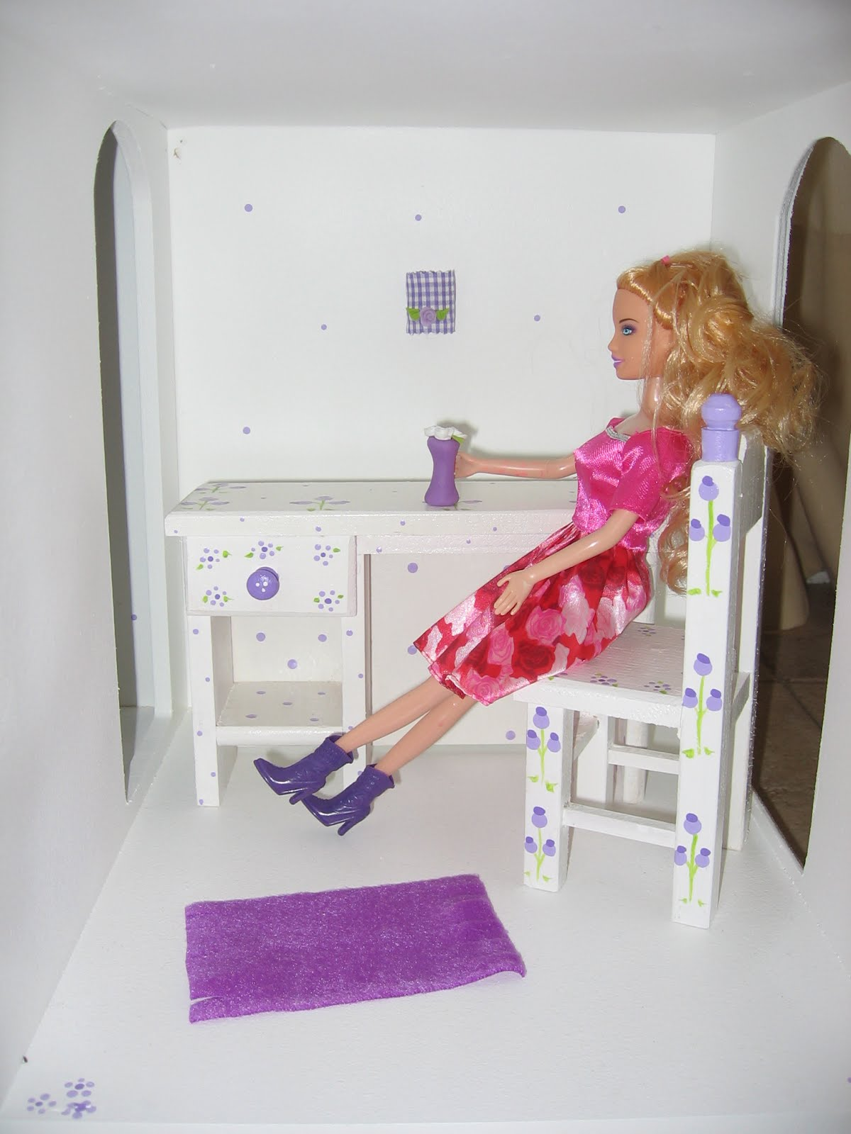 Con el amor de carlota muebles para casa de mu ecas barbie - Muebles en la carlota ...