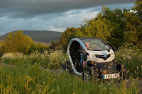 Twizy off the beaten track