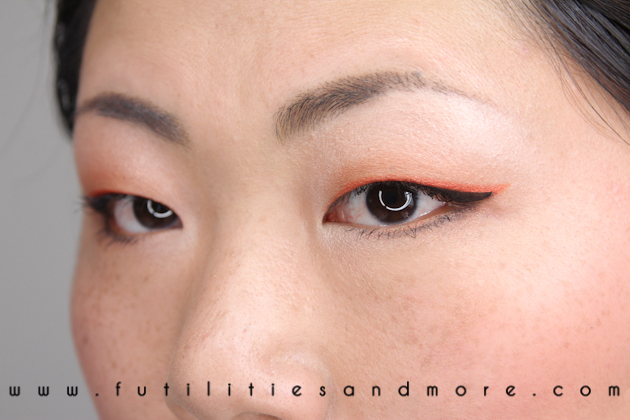 Neon Eyeliner – Sephora Color Of The Year – Tangerine Tango